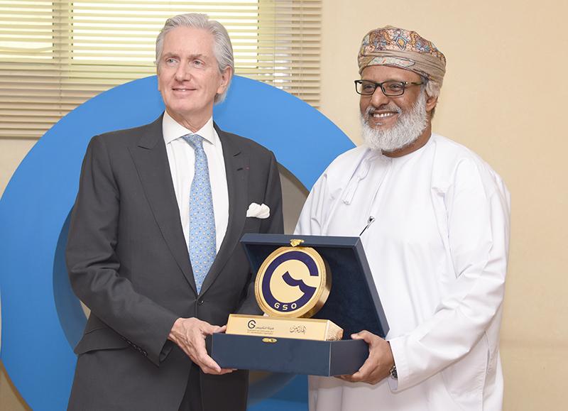 هيئة التقييس تستقبل السفير الفرنسي لدى المملكة العربية السعودية