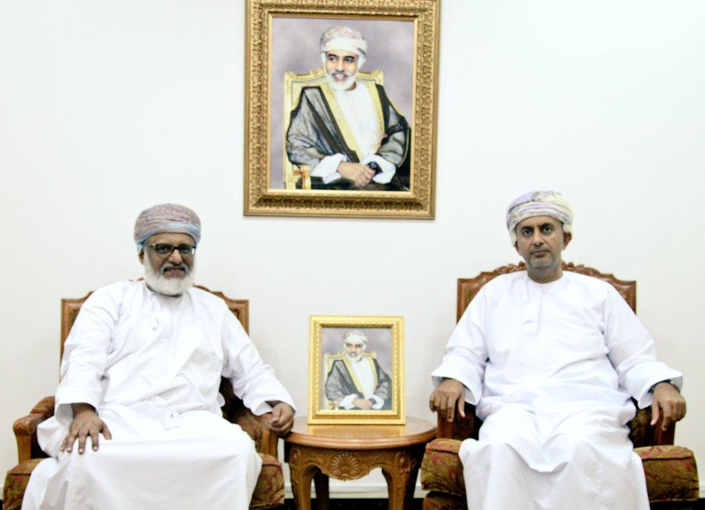 وزير التجارة والصناعة بسلطنة عمان يستقبل الأمين العام لهيئة التقييس