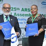 هيئة التقييس توقع مذكرة تفاهم مع المنظمة الأفريقية للتقييسARSO